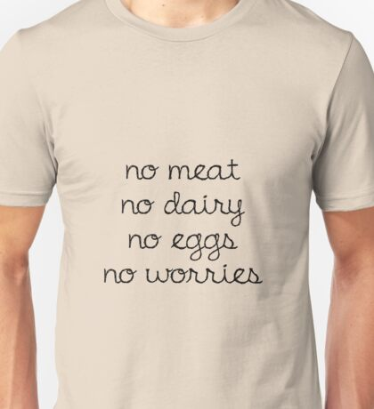 vegan friendly Unisex T-Shirt