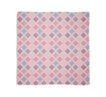Abstract Pink Geometric Shapes, Pattern Scarf