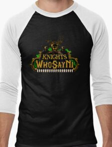 World of Ni-Craft Men's Baseball ¾ T-Shirt