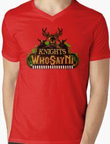 World of Ni-Craft Mens V-Neck T-Shirt