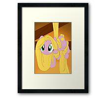 Pony Rapunzel Framed Print