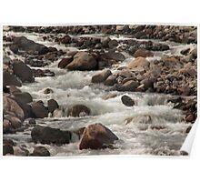 White River Rush - 2 ©  Poster