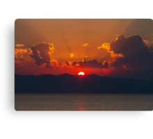 A Lake Tahoe Sunset Canvas Print