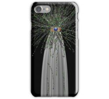 Gifted Product using white and glitter iPhone Case/Skin