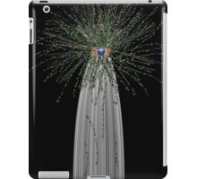 Gifted Product using white and glitter iPad Case/Skin