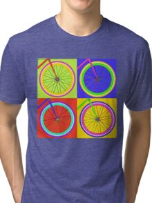 Fixie Pop  Tri-blend T-Shirt