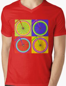 Fixie Pop  Mens V-Neck T-Shirt