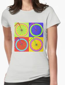 Fixie Pop  Womens Fitted T-Shirt