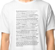 Lotto Lyrics Classic T-Shirt