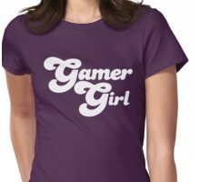 Gamer Girl Womens Fitted T-Shirt