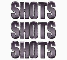 Shots Shots Shots Drinker's Paradise by geekchicprints