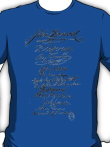 Founders' Signatures T-Shirt