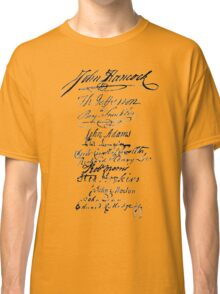 Founders' Signatures Classic T-Shirt