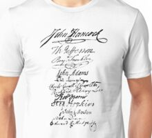 Founders' Signatures Unisex T-Shirt