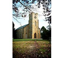 Christ Church, Longford Tasmania Photographic Print
