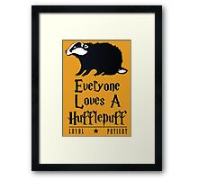 Loyal & Patient Framed Print