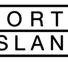 north island logo Sticker
