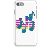 Music Notes 80s iPhone Case/Skin