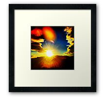 Bright Sky (LS.50) Framed Print