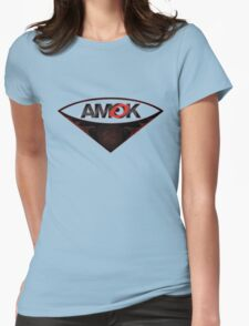 A M O K [tm] Womens Fitted T-Shirt