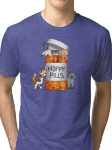 Happy Pills Tri-blend T-Shirt