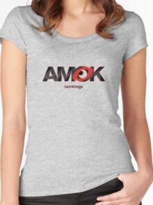 AMOK - rarotonga Women's Fitted Scoop T-Shirt