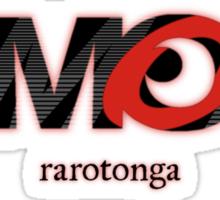 AMOK - rarotonga Sticker