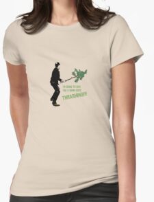 Good Thrashing! – Basil Fawlty Womens Fitted T-Shirt