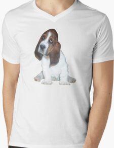 Barney the Bassett Hound  Mens V-Neck T-Shirt