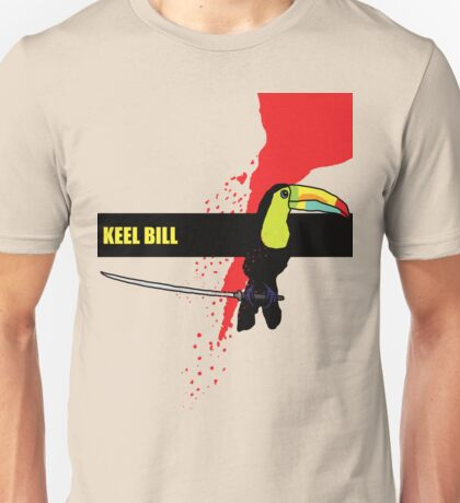 Keel Billed Toucan Unisex T-Shirt