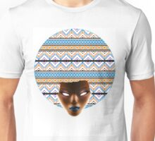 AFRO_Orange & Blue_Redux Unisex T-Shirt