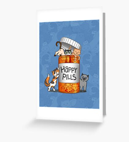 Happy Pills Greeting Card
