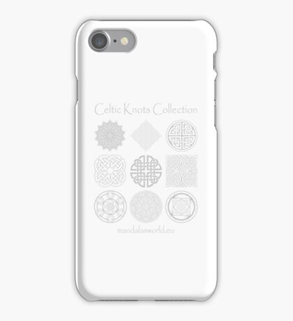 Celtic Knots Collection Light iPhone Case/Skin