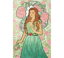Rose Nouveau Photographic Print