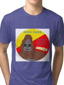 Sassy foods Tri-blend T-Shirt