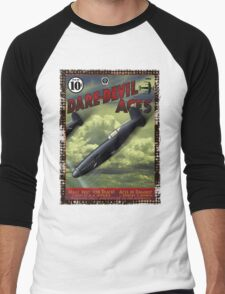 Dare-Devil Aces circa 1938 Men's Baseball ¾ T-Shirt