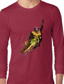 Bubble Trouble - jetpack rescue Long Sleeve T-Shirt