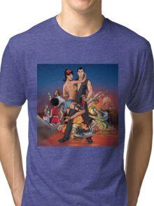 cast of archer Tri-blend T-Shirt