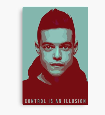 Mr. Robot - Elliot Canvas Print