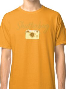 shutterbug (with cool photographic camera) Classic T-Shirt