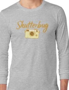 shutterbug (with cool photographic camera) Long Sleeve T-Shirt