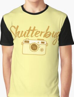 shutterbug (with cool photographic camera) Graphic T-Shirt