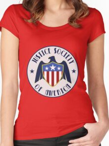 Justice Society of America : Legends of Tomorrow Women's Fitted Scoop T-Shirt