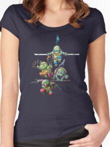 Ninjas Women's Fitted Scoop T-Shirt