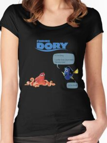 Finding Dory Women's Fitted Scoop T-Shirt