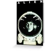 Alien Ripley  Greeting Card