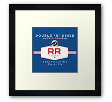 The Double R Diner : Twin Peaks Framed Print