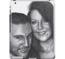Jarod and Miss Parker iPad Case/Skin