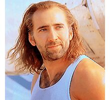 Nick Cage Photographic Print