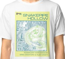 Snake Pipe Hollow - Giant & Snake cover Classic T-Shirt